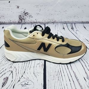 New Balance Shoes - New Balance Mens ML498GB Gold Leather Running Shoe